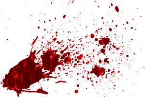 dried-blood-brush